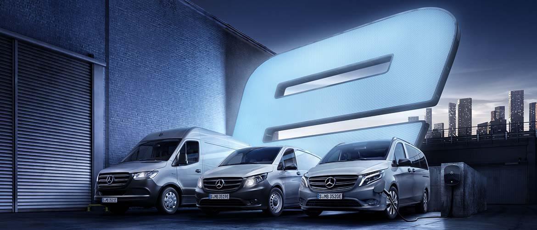 Mercedes eVans