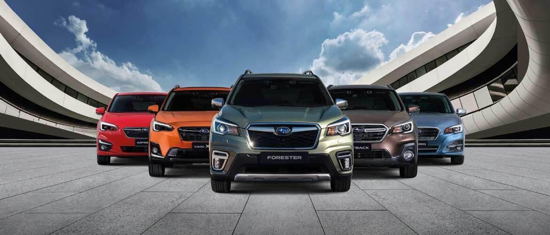 Modelli Subaru