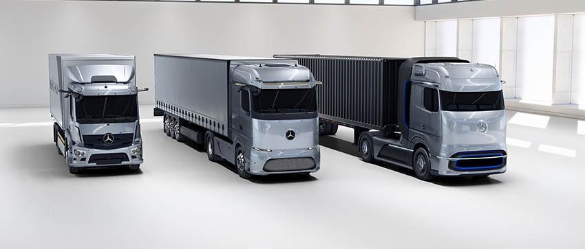 Truck Mercedes sempre più green