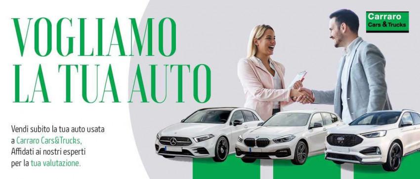 Carraro Cars&Truck acquistiamo la tua auto usata.