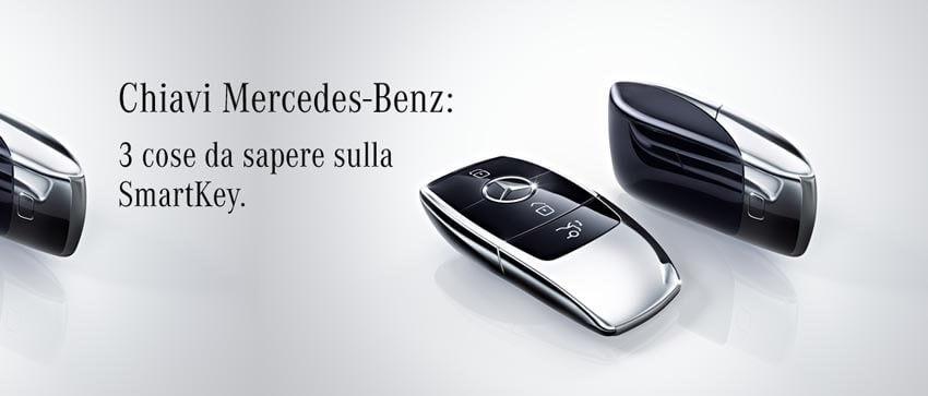 Chiave Mercedes-Benz: 3 funzionalità comode e molto utili