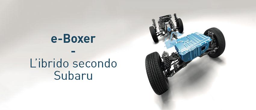 e-Boxer: l'ibrido secondo Subaru