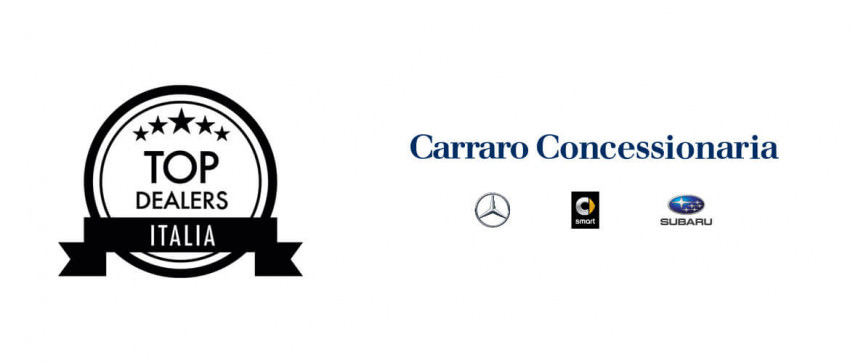 Carraro concessionaria è tra i Top Dealer Italia
