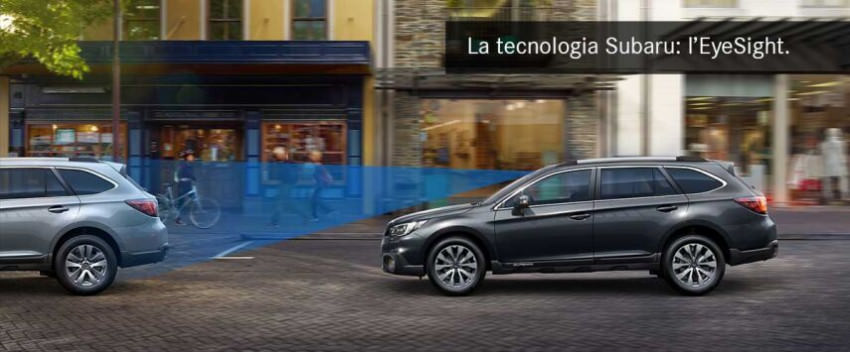 La tecnologia Subaru: l'EyeSight.