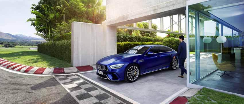 Mercedes-AMG GT 4 porte: la sportiva per tutti i giorni