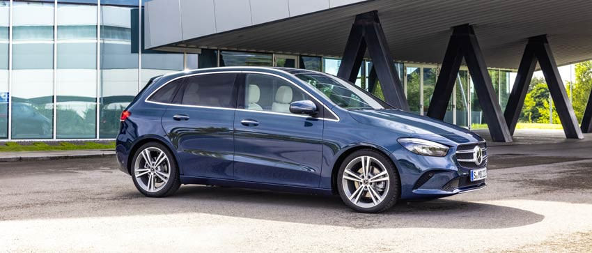 Nuova Mercedes Classe B. Abbiamo reinventato la familiare.