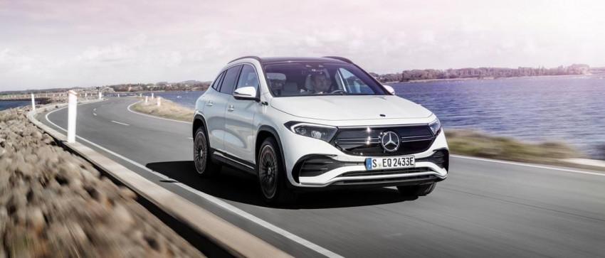 Mercedes EQA 2021: la crossover completamente elettrica