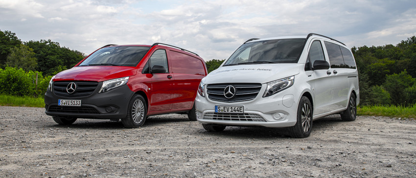 Mercedes Vito Facelift 2020
