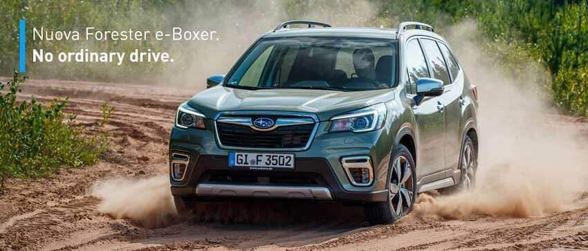 Nuova Forester e-Boxer: la prima Subaru ibrida