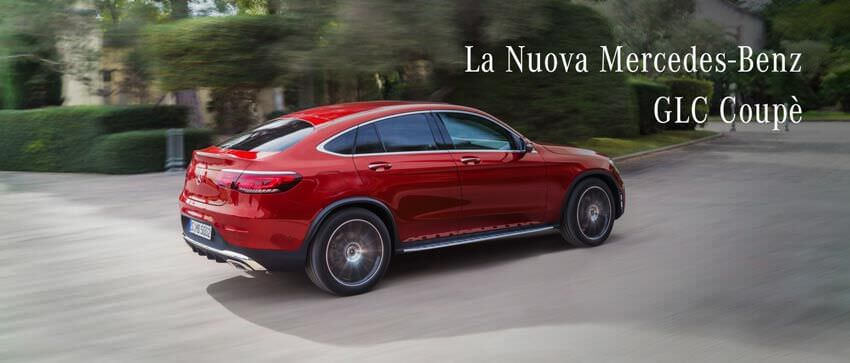La Nuova Mercedes GLC Coupè 2019