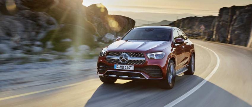 Nuova Mercedes GLE Coupé 2020