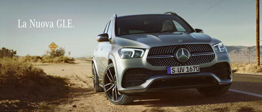 La Nuova Mercedes GLE.