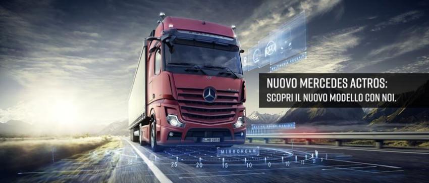 Nuovo Mercedes Actros: scoprilo con noi
