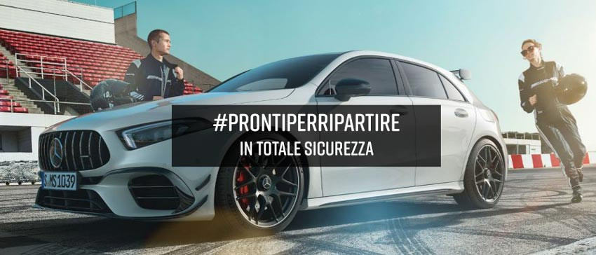 #ProntiPerRipartire, in totale sicurezza.