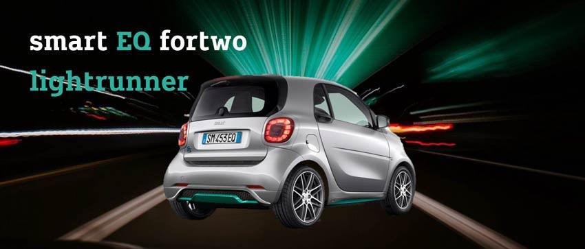 smart eq fortwo lightrunner: versione 100% elettrica