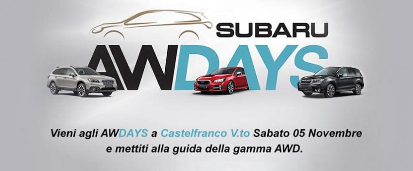 Subaru AWDay - Castelfranco Veneto - 5 Novembre