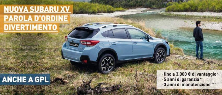 La nuova Subaru XV. La sicurezza che fa esplorare.