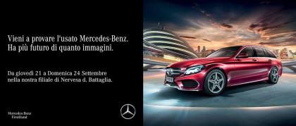 Scopri Mercedes-Benz FirstHand: l'usato che ha più futuro di quanto immagini.