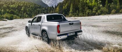 Classe X 350 d 4Matic: la nuova motorizzazione del pick-up Mercedes