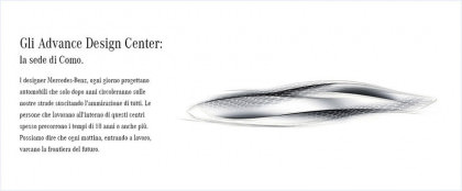 Created by Mercedes-Benz. Gli Advanced Design Studios.