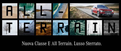 La Nuova Mercedes-Benz Classe E All-Terrain