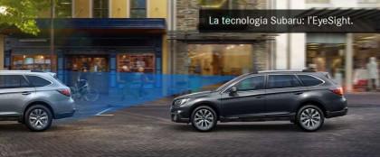 La tecnologia Subaru: l'EyeSight.