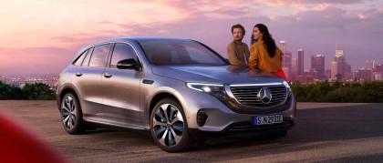 Mercedes EQC: il SUV elettrico che apre una nuova era.