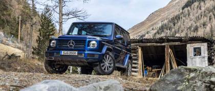 Mercedes Classe G 350d: disponibile anche il diesel