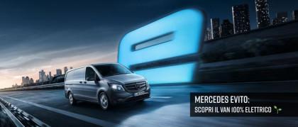 Mercedes-Benz eVito. Guidare il futuro elettrico.