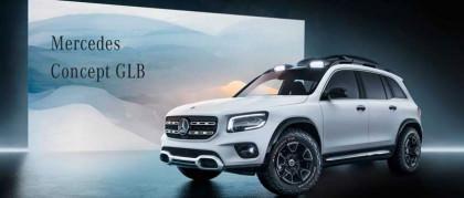 Nuova Mercedes GLB Concept: il nuovo SUV compatto