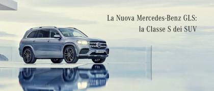 La Nuova Mercedes GLS 2019: la Classe S dei SUV