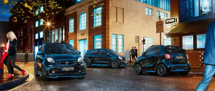 Smart nightsky: be first. Drive electric.