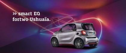 smart EQ fortwo Ushuaïa: la prima edizione limitata completamente elettrica