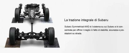La tecnologia Subaru: la trazione integrale Symmetrical AWD