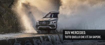 SUV Mercedes: tutto quello che c'è da sapere