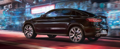 La nuova Mercedes-Benz GLC Coupé