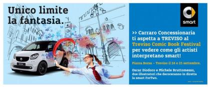 TrevisoComicBook Festival e smart