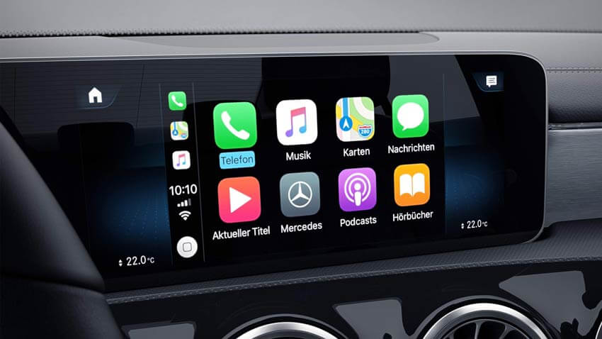 Apple CarPlay Mercedes