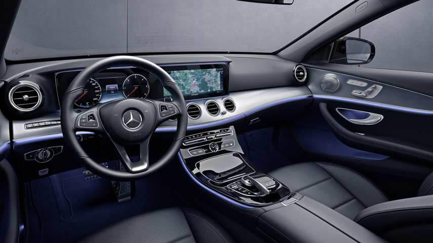 Interni della nuova Mercedes-Benz Classe E All-Terrain