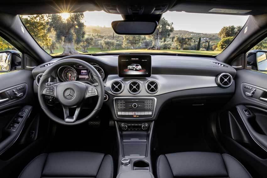 Interni della Nuova Mercedes-Benz GLA