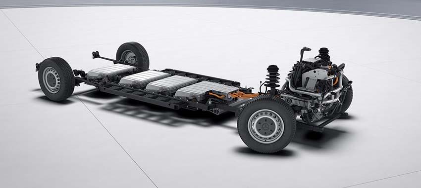 dimensioni Mercedes eSprinter