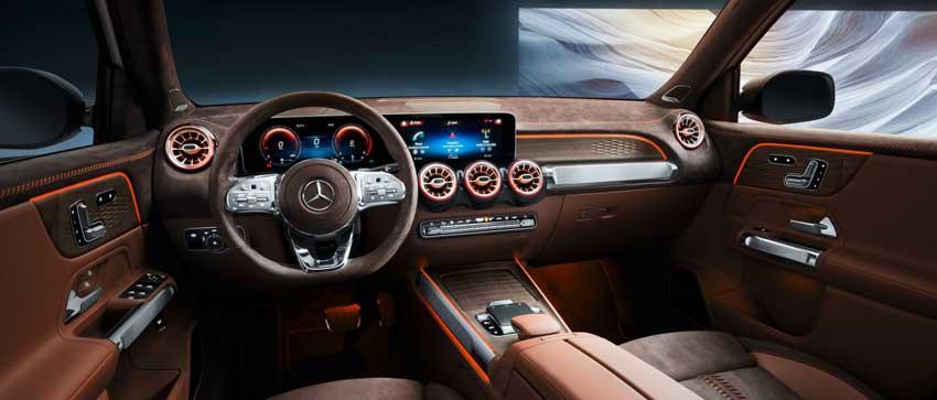Interni Mercedes GLB Concept