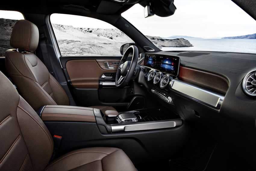Mercedes GLB interni