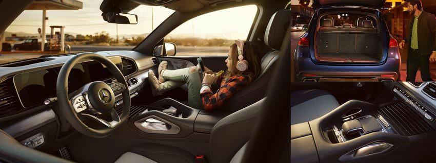 Mercedes GLE - Internet