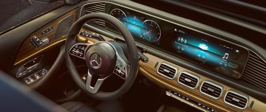 Mercedes GLE: MBUX