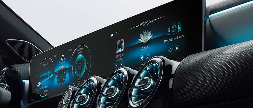 Nuova Classe A MBUX Mercedes-Benz User Experience