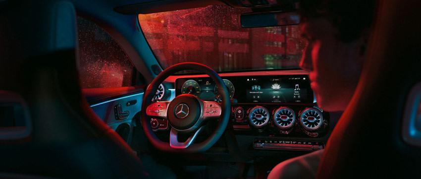 Mercedes-Benz CLA Coupè: interno