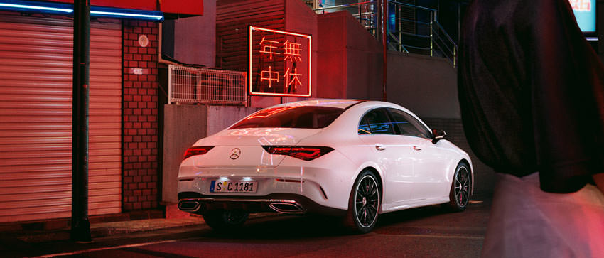 Mercedes-Benz CLA Coupè: posteriore