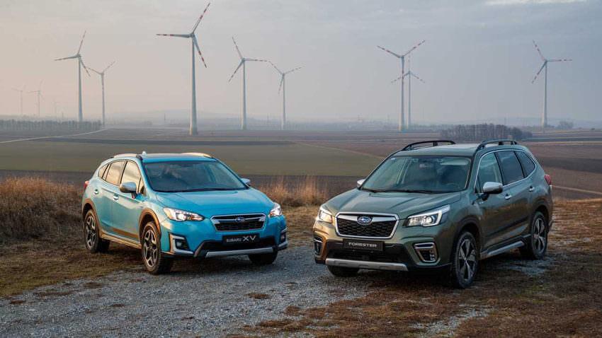 Subaru XV e-Boxer e Subaru Forester e-Boxer