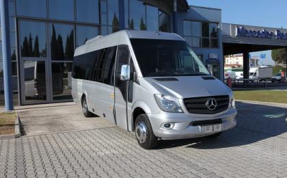 Minibus turistici in allestimento